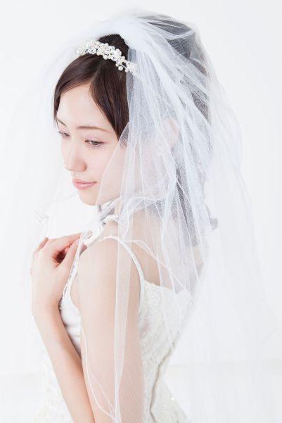 39588888 - smiling bride